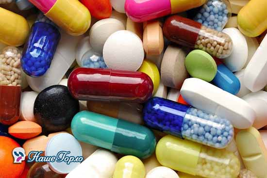 лечение фарингита лекарствами
